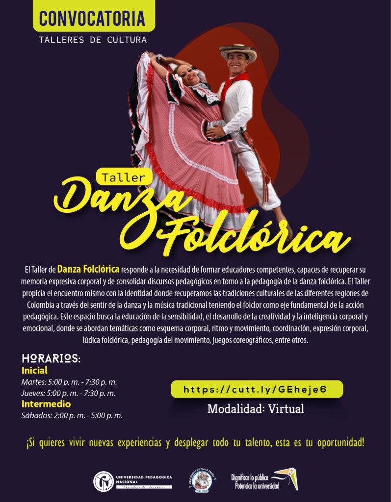 Inscripciones abiertas taller: Danza Folclórica